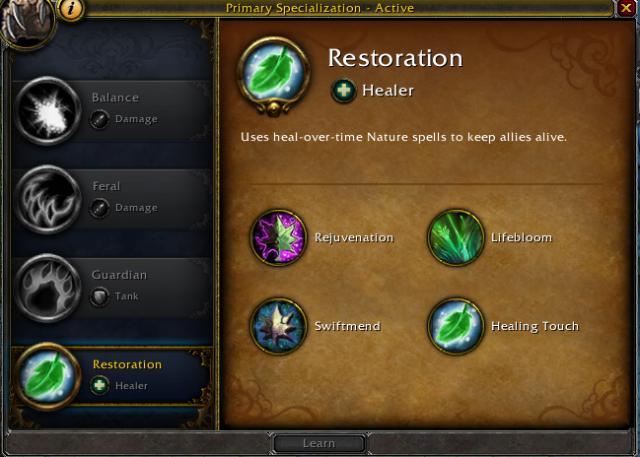 Archive Restoration Druid Guide 6 2 Healcraft