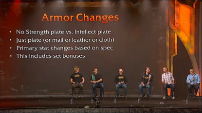 armor changes