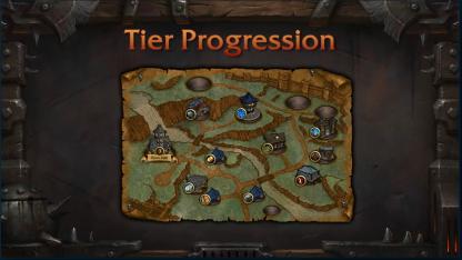 garrrison tier progression