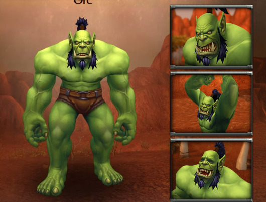 Orc Wow New Model new orc model | Healcr...