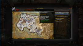 new questing interface