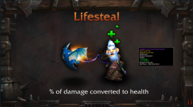 new stat lifesteal