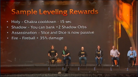 sample leveling rewards